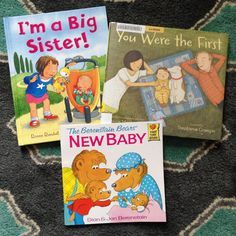 Great recommendations on some books for transitioning an only child into role of a bigger sibling