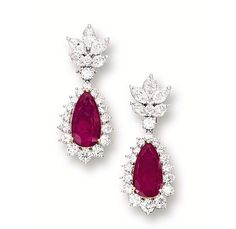 Tuesday 24th  English National Ballet Performance of Lest We Forget Ruby Earrings
