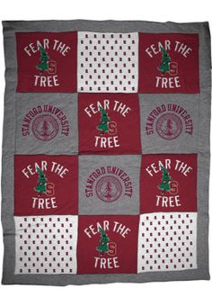 Product: Stanford University 'Fear The Tree' Blanket