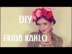 Halloween : DIY FRIDA KAHLO (hair, make-up and costume)