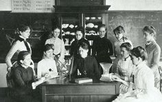 Wellesley College back in the day