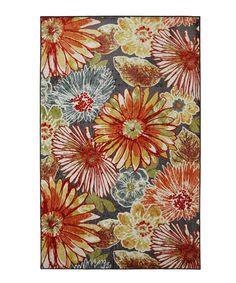 Look what I found on #zulily! Floral Charm Rug #zulilyfinds