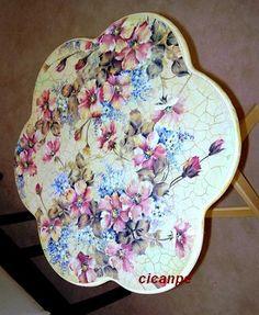 papatya sehpa (camomile coffee table) - cicanpe - Blogcu.com