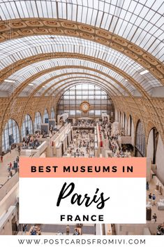 5 of the best museums in Paris #Paris #France #Europe #Eurotrip