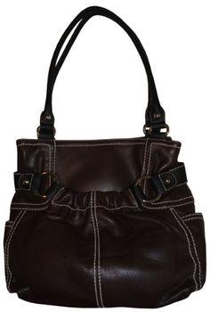 7d0b915331 ( 179.00) Women s Tignanello Purse Handbag Soft Casual North South Leather  Tote Brandy