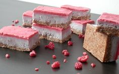 These raw raspberry bars are simply one of the best desserts yet! They are so easy to make and full of tart, sweet raspberry flavor.