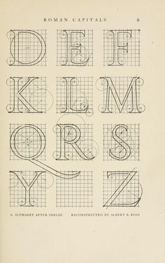 Letters & lettering; a treatise with 200 examples