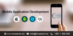 BroadNet Technologies offers top-of-the-line #mobile #application #development services via cutting-edge tools and technologies. Our mobile apps developers are able to create highly customized mobile applications as per the consumer needs and enterprises. Contact us now.