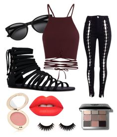 """Alexandrite su"" by stevenufashion on Polyvore featuring JustFab, Lime Crime, Bobbi Brown Cosmetics and Jane Iredale"