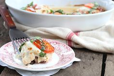 Caprese Chicken, an easy, low carb meal for all the best flavors of summer