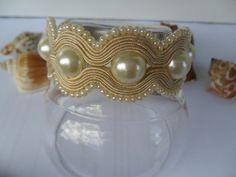 bracelet  / soutache technique / handmade