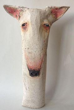 sarah saunders for @Rose Pendleton Pendleton Pendleton Pendleton O'Connor - #dog #sculpture