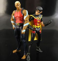 Young Justice Robin Custom Action Figure by Jin Saotome Base figure: ML X-23