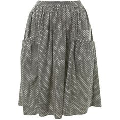 See this and similar Miss Selfridge knee length skirts - Knee Length Monochrome Printed Skirt 100% Viscose. Machine washable.