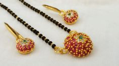 AD Mangalsutra with Earrings..