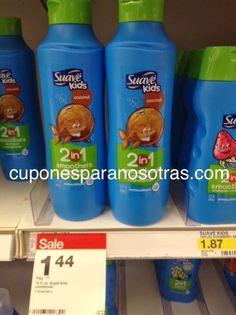 Target: Suave Kids Acondicionador o Shampoo GRATIS!