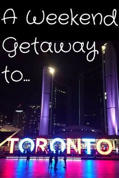 In one weekend in Toronto, Canada, visit the CN Tower, City Hall, the Harbour ferry ride, and beaches. #StayCanada