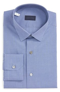 Lanvin blue grey shirt