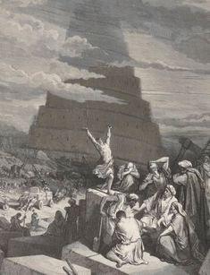 La Sainte Bible #gallica #illustrateur #illustrator #doré #bible #babel
