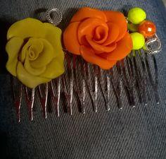 Pettine wire e fimo
