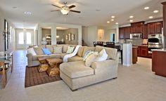 Lennar's single story home at Coronado Hills in Henderson