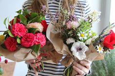 pick up flowers while I #ridecolorfully