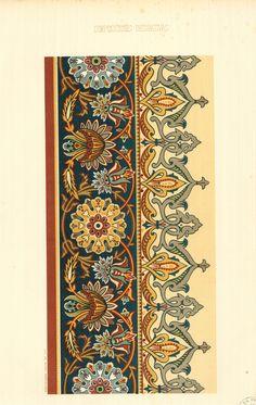 Carpet Runners For Sale Melbourne Textile Pattern Design, Textile Patterns, Pattern Art, Border Pattern, Print Patterns, Textile Prints, Textile Art, Art Nouveau, Molduras Vintage
