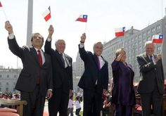Ultimos 5 presidentes de Chile