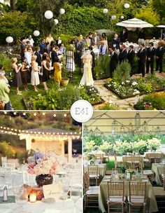 backyard weddings pros and cons