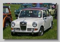 Wolseley Hornet (ADO 15) - The posh Mini with a big bum. The Riley Elf and Wolseley Hornet versions of the Mini were launched in 1961 with the 848cc engine. In 1963 the MkII Hornet was launched with a 998cc engine, and in 1964 it gained Hydrolastic suspension. The MkIII Hornet and Elf appeared in 1966 with wind-up windows and concealed hinges. In 1969 production stopped and the Clubman models took over as the upmarket Minis.