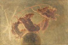 Danza delle Ore - 1899 - The Dance of the Hours by Gaetano Previati Gaetano Previati – was an Italian Symbolist painter in the Divisionist style. Italian Painters, Italian Artist, Claude Monet, Vincent Van Gogh, Paul Signac, Art Nouveau, Maurice Denis, William Ellis, Gauguin