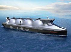 Design for the first liquid hydrogen carrier