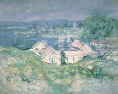 """John Henry Twachtman, """"Gloucester"""" (circa 1900-2)"""