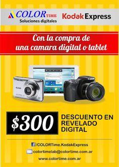 Color Time Noticias: Comprá una cámara digital o una tablet y te regala...