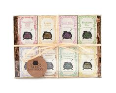 Three Sisters Apothecary Travel Bar Soap Sampler Set via Etsy