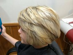 Sirenna's school hairdo 2