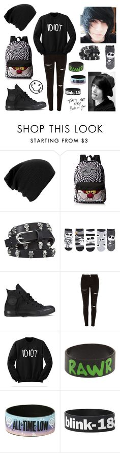 """""""Going on a walk with Jack// Zack"""" by thugpug2003 ❤ liked on Polyvore featuring Converse and River Island"""
