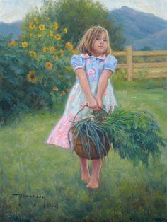 from the vegetable garden