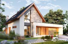Modern Bungalow Exterior, Modern Farmhouse Exterior, Dream House Exterior, German Houses, Minimal House Design, Industrial House, Facade House, Future House, Building A House