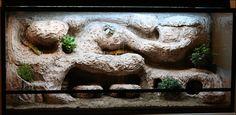 Leopard Geckos: the ultimate naturalistic vivarium complete with leos - DIY Reptile Background