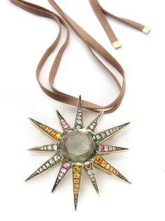 H. Stern coloured Stars pendant