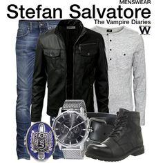 Inspired by Paul Wesley as Stefan Salvatore on The Vampire Diaries.