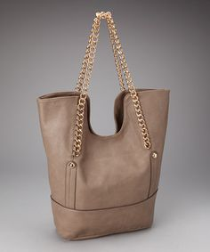 Gray Chain Tote by Rampage Handbags $22.99!