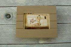 Cadre vintage à partir de bois de palette de la boutique lalouchic sur Etsy