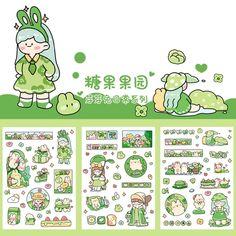 Anime Stickers, Kawaii Stickers, Cute Stickers, Kawaii Doodles, Cute Doodles, Journal Stickers, Scrapbook Stickers, Sticker Shop, Sticker Design
