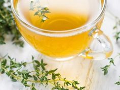 Thyme tea- Thyme infusion or herbal tea Source by Knottodayseitan - Natural Cold Remedies, Herbal Remedies, Herbal Cure, Health Benefits Of Thyme, Colon Irritable, Thyme Tea, La Constipation, Heartburn, Health Vitamins