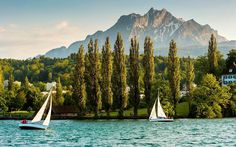 Lake Lucerne,  Switzerland   | The 50 destinations that made our list this year include one of France's lesser-known wine regions, America's next big dining spot, and a buzzy Greek island. How many of these places will you visit in 2017?