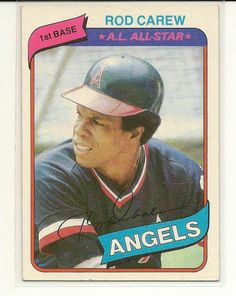 1980 Topps # 700 Rod Carew California Angels