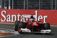Fernando Alonso, Ferrari, Valencia Street Circuit, 2012