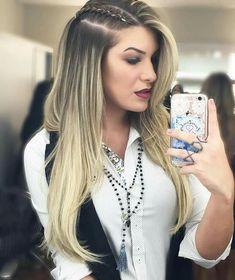 Front Hair Styles, Medium Hair Styles, Curly Hair Styles, Natural Hair Styles, Trendy Hairstyles, Braided Hairstyles, Blonde Hair Looks, Hair Locks, Pinterest Hair